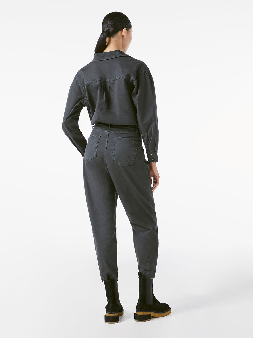 jumpsuit back view