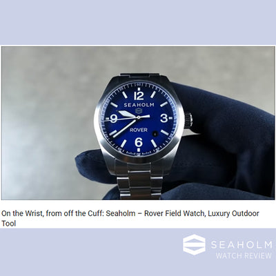 SEAHOLM ROVER - WATCH REVIEW