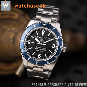 SEAHOLM OFFSHORE DIVE WATCH REVIEW BY WATCHUSEEK