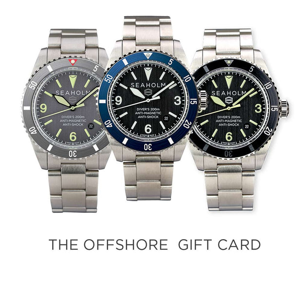 Offshore Dive Watch Gift Card