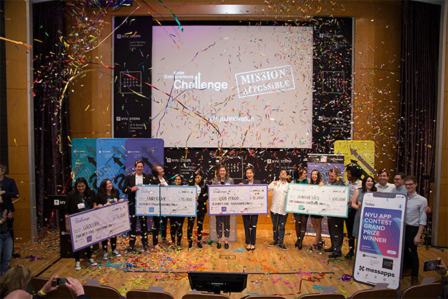 Winners of NYU Stern's 300K Challenge