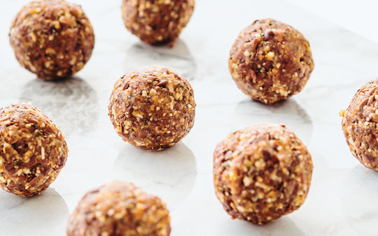 Flax and Pumpkin Seed Energy Bites