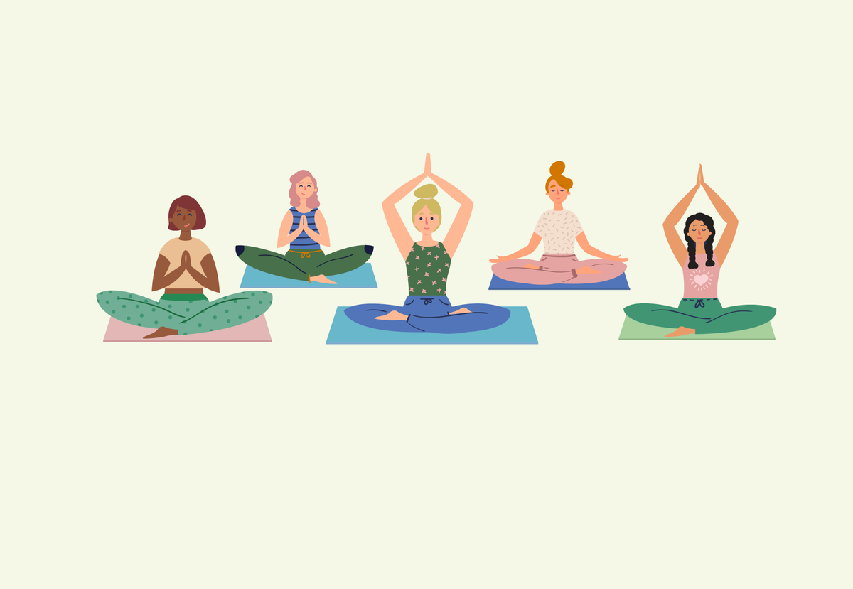 Yoga Poses for Period Cramps