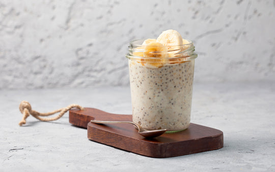 Creamy Banana Overnight Oats
