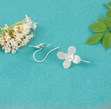 Stunning Anemone Flower Earrings Handmade in the UK - Milly & Co.