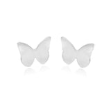 Dainty Butterfly Studs Handmade in the UK - Milly & Co.