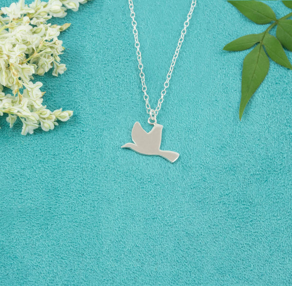 Little Bird Silhouette Necklace - Milly & Co.