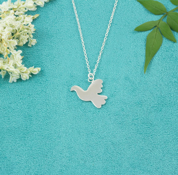 Dove Silhouette Necklace - Milly & Co.