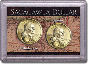 HE Harris Frosty Case: Sacagawea Dollars: 2 Holes
