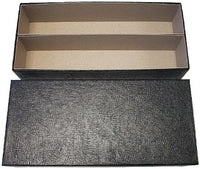 Heavy Duty Black Double Row Box for 2x2's