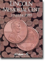 Harris Folder: Lincoln Memorial Cents #2 1999-Date