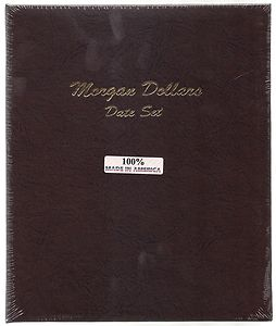 Dansco Album #7171 for Morgan Silver Dollars Date Set: 1878-1921