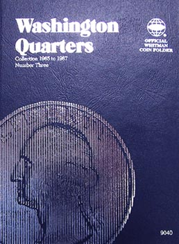 Whitman Folder: Washington Quarters #3: 1965-1987