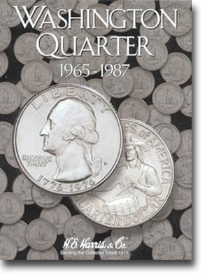 Harris Folder: Washington Quarters #3 1965-1987