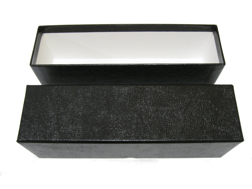 Black Single Row Slab Box
