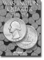 Harris Folder: Washington Quarters #2 1948-1964