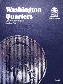 Whitman Folder: Washington Quarters #4: 1988-2000