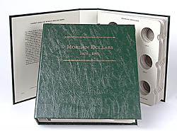 Littleton Album for Morgan Silver Dollars 1878-1891