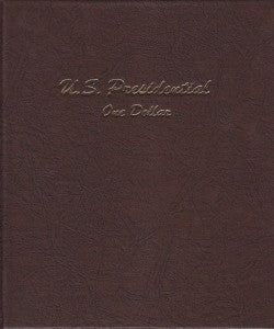 Dansco Album #7184 for Presidential Dollars P & D Mints