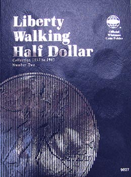 Whitman Folder: Walking Liberty Half Dollars #2- 1937-1947