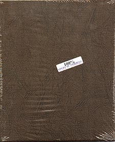 "Dansco Album Blank Binder 1 1/8"": Holds 6-7 pages"