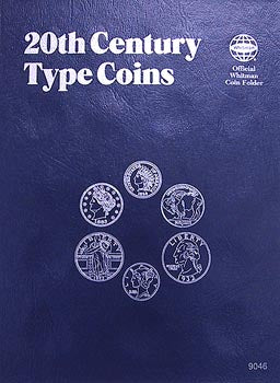 Whitman Folder: 20th Cent Type Coins