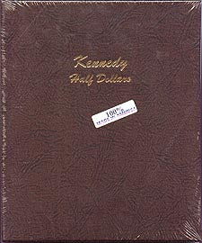 Dansco Album #7166 for Kennedy Half Dollars: 1964-2017