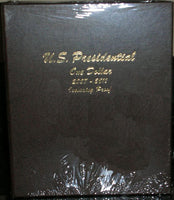 Dansco Album #8184 for Presidential Dollars 2007-2011 w/proof