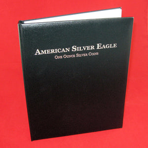 Book of Silver American Silver Eagle Album