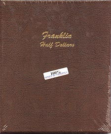 Dansco Album #7165 for Franklin Half Dollars: 1948-1963