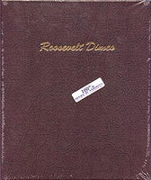Dansco Album #7125 for Roosevelt Dimes: 1946-2005