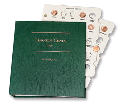 Littleton Album for Lincoln Cents 1959-date