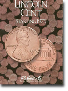 Harris Folder: Lincoln Cents #3 1975- Date