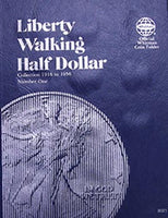 Whitman Folder: Walking Liberty Half Dollars #1- 1916-1936