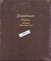 Dansco Album #8176 for Eisenhower Dollars: 1970-1978 w/proofs