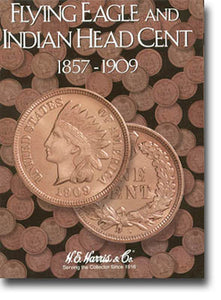 Harris Folder: Indian Head Cents 1857-1909