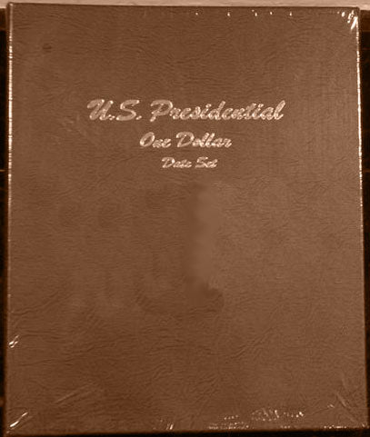Dansco Album #7186 for Presidential Dollars Date Set
