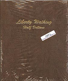 Dansco Album #7160 for Walking Liberty Half Dollars: 1916-1947