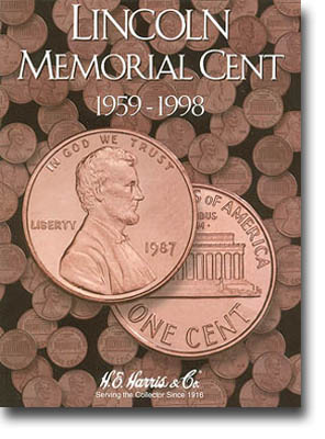 Harris Folder: Lincoln Memorial Cents #1 1959-1998
