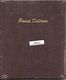 Dansco Album #7175 for Peace Dollars: 1921-1935