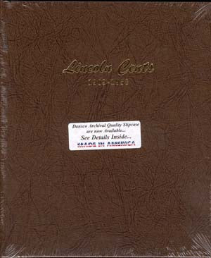 Dansco Album #7103 for Lincoln Cents: 1909-1958