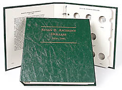 Littleton Album for Susan B Anthony Dollars 1979-1999