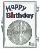 Marcus Snap Lock Silver Eagle: Happy Birthday