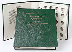 Littleton Album for Washington Quarter 1932-1967