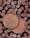 Harris Folder: Lincoln Cents #1 1909-1940