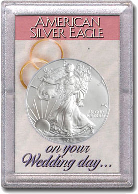 HE Harris Frosty Case for Silver Eagles: Wedding