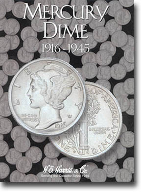 Harris Folder: Mercury Dimes 1916-1945