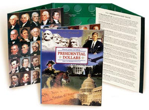 Littleton Folder: Presidential Dollars P&D Mints