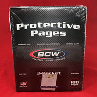 BCW 3 Pocket Pages