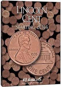 Harris Folder: Lincoln Cents #4 2014-Date #4002